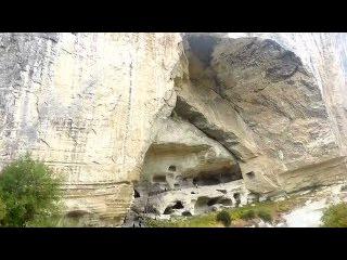Крым,Бахчисарай,Качи-Кальон - экскурсия в пещерный монастырь 18 октября 2015 года. (Kachi-Kalyon).
