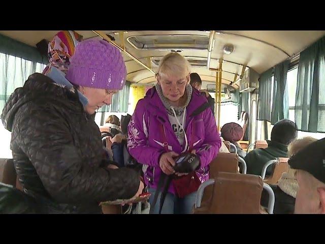 Транспортная революция в Бийске Будни 11 10 16г Бийское телевидение