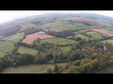 Stunning Drone Footage of Celtic Cross in Donegal Forest