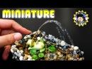 [ENG] DIY 미니어쳐 물 뿜는 개구리 분수 만들기- Frog Water Fountain / 미미네 미니어쳐