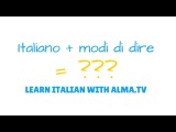 Impara l'italiano con ALMA.tv | Learn Italian with ALMA.tv