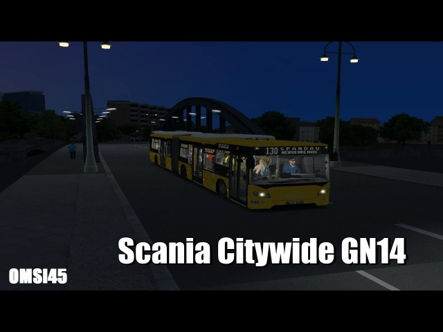 OMSI 2 Scania Citywide GN14