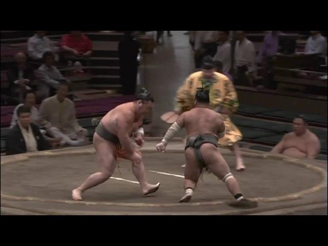 幕下相撲も面白い!富栄VS 佐々木山・平成28年9月場所10日目