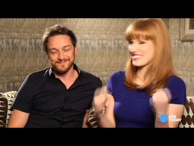 Its a triple dose of McAvoy, Chastain (HD)