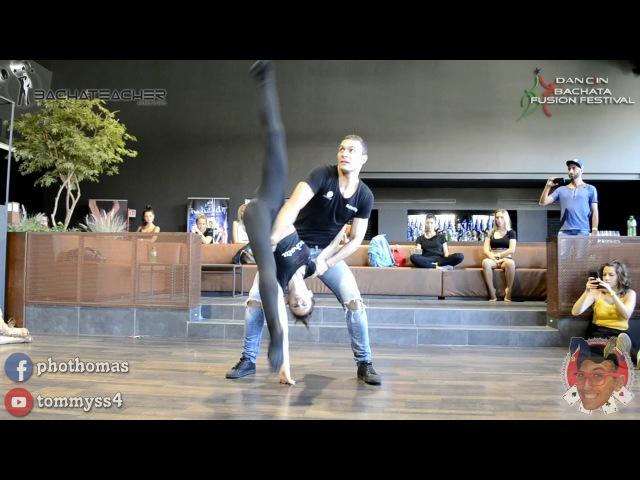 Andrea y Silvia [Bachata Acrobatic] @ Dancin Fusion 2016