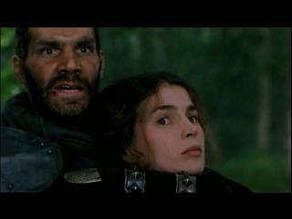 Первый рыцарь (1995). Нападение отряда Малагана на кортеж леди Гвиневры