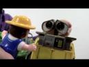Видео для детей Робот ВАЛЛИ и Фермер. Роботы Игрушки! Wall E