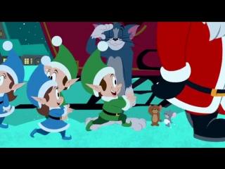 Том и Джерри Маленькие помощники Санты Tom and Jerry Santas Little Helpers (2014) BDRip [vk.comFeokino]