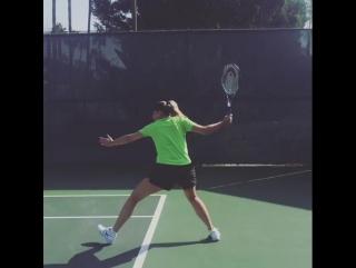 Мария Шарапова. Тренировка 14.10.2016 /Maria Sharapova. Practice 14.10.2016