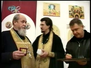 Протоиерей Василий Ермаков в г. Сосновый Бор. Открытие Храма. 1-2 января 2006-го года.