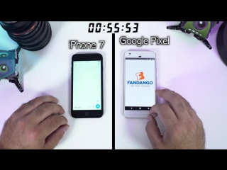 iPhone 7 vs Google Pixel Speed Test