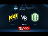 ESL One Frankfurt Grand Final: Na`Vi vs. OG - Game 1