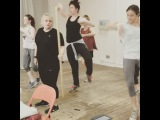 Day 1 of Dance Rehearsals for GUYS & DOLLS on the West End...I like to start pretty shit and jet-lagged and slowly build into cr