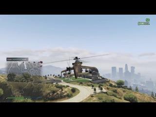 GTA V зерг мотоклуб на 4 танках и прочий угар [PS4] [RU]