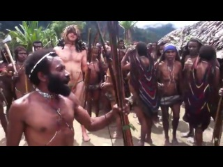White man dancing naked with an isolated tribe, no one knows about it