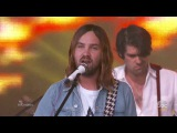 Tame Impala - The Less I Know The Better at Jimmy Kimmel Live! in Hollywood on 13/Sep/2016.