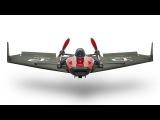 Первый в истории бумажный самолет с потоковым видео PowerUp FPV