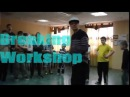 Студия танца BNS | Мастер-класс по брейкингу | B-boy Mel aka Inside (СМАК, Екб)