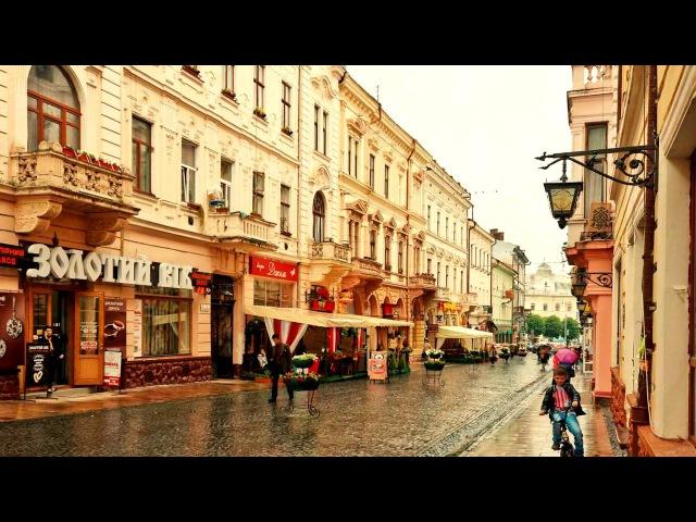 Ad ovest dell'Ucraina la citta' di Chernivtsi