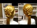 Плетение штопка. Простая прическа в школу.Easy school hairstyle