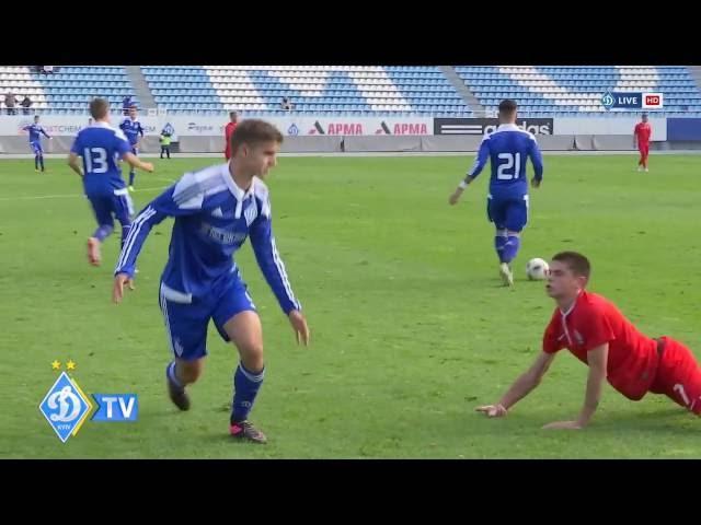 U-19. ДИНАМО - Зоря 8:0. Огляд матчу