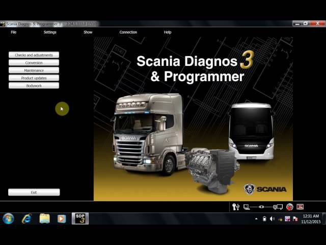 SCANIA VCI 2 24