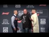 UFC 205 Пресс-конференция: Конор МакГрегор - Эдди Альварез | Лицом к лицу