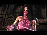 Mortal Kombat X - Mileena-Tanya Mesh Swap Intro, X Ray, Victory Pose, Fatalities and Brutality