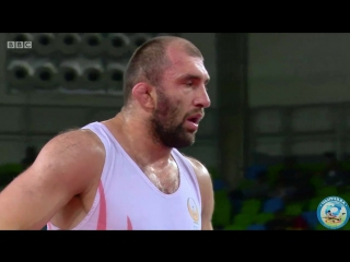 РИО-2016 97 кг за бронзу Магомед Ибрагимов (Узбекистан) - Валерий Андрейцев (Украина)