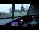 Fuhrerstandsmitfahrt cabride BR 152 von Augsburg Hbf nach Donauworth Sk-Signale