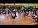 BABY BATTLE за 1\2 место : Bboy Lil Kirill vs Bboy Master Yoda