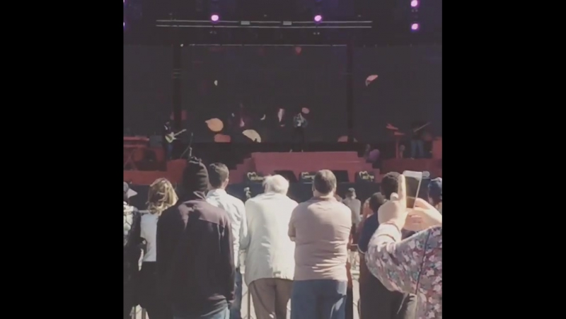 Christina Aguilera - Reharsals (Mawazine Festival 2016)