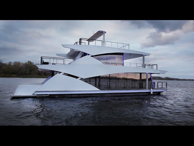 Самарец Построил Яхту На 1 млн. $$$ / Плавдом Мачогана
