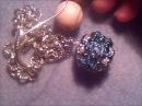 Risposta al tutorial sfera rivestita con twin beads perle e biconi swarovski di Cr3stina