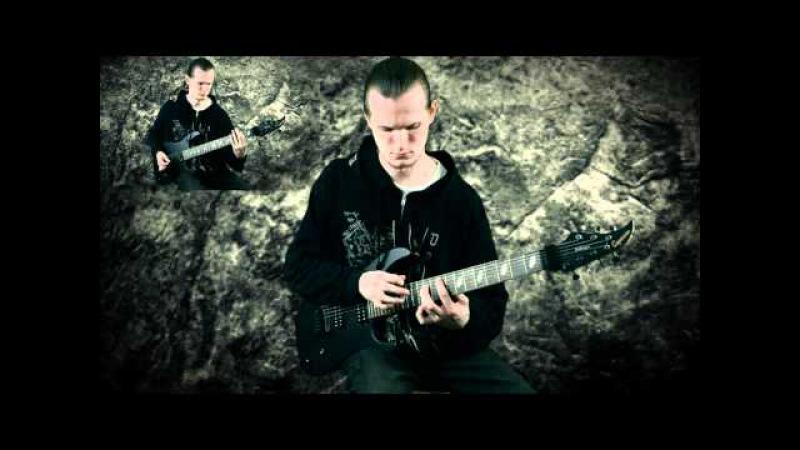 2 Militant Guitars The Extremist Caparison Dellinger 7 FX w Bare Knuckle Aftermath