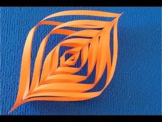 DIY. Как из бумаги сделать ✽ Новогодний Фонарик 3D. Мастер класс.