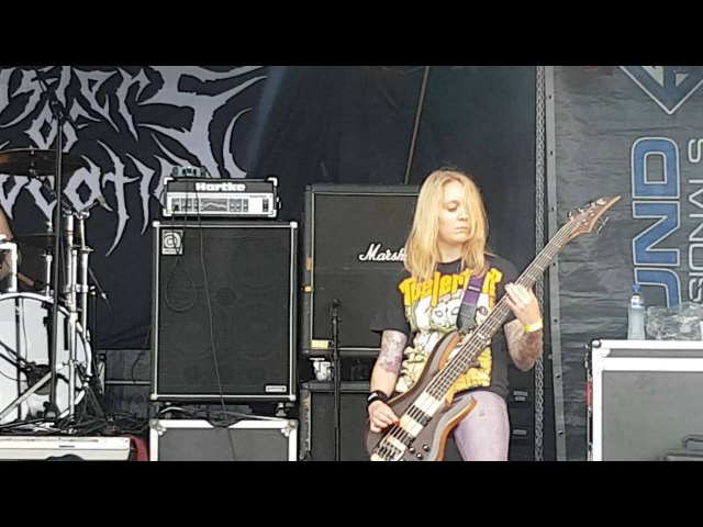 Sisters of suffocation @ stonehenge festival 2016