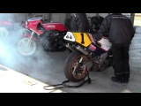 NSR500(1988) Engine Warm-up