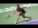 WTA Finals 2016 | Singapore | Agnieszka Radwanska vs Karolina Pliskova  | Highlights