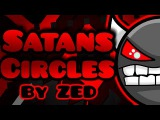 IMPOSSIBLE Satans Circles by ZEB 100  Geometry Dash