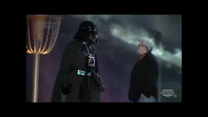 Darth Vader Wins Ultimate Villain at the 2011 Spike TV Scream Awards