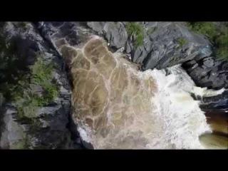 Путь домой (Воицкий водопад и каньон реки Нижний Выг)