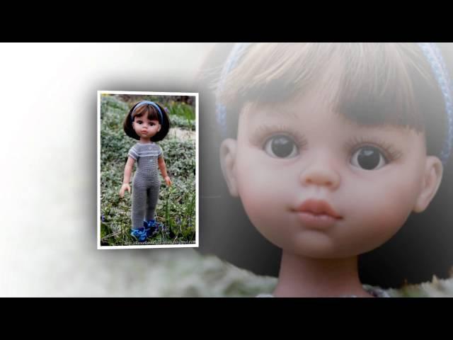Вяжем куклам вяжем куклам Паола Рейна пальто и ботинки крючком