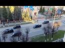 Кортеж Путина в Йошкар-Оле