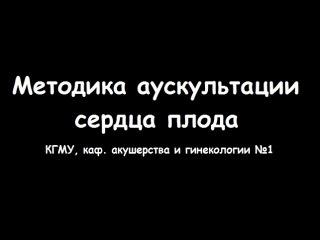 Аускультация плода в акушерстве - meduniver.com
