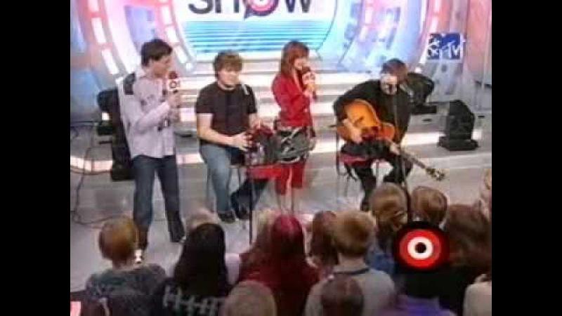Сплин. А. Васильев и Я. Николенко. Тотальное шоу MTV, 2003