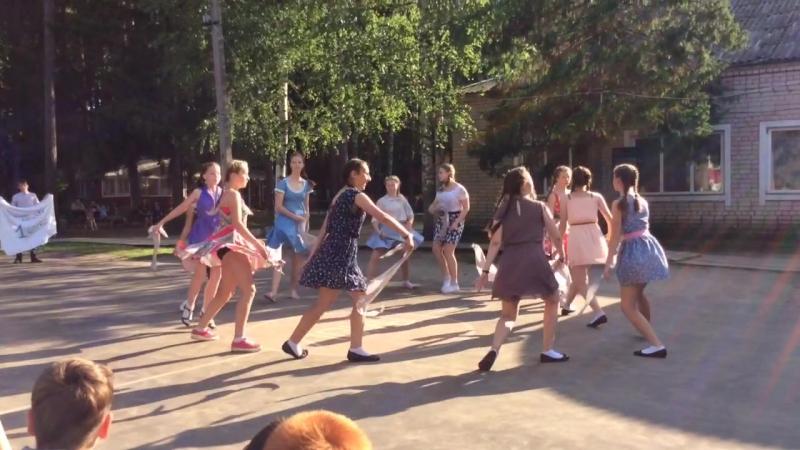 Военный танец 1 2 отряд 3 смена 2016