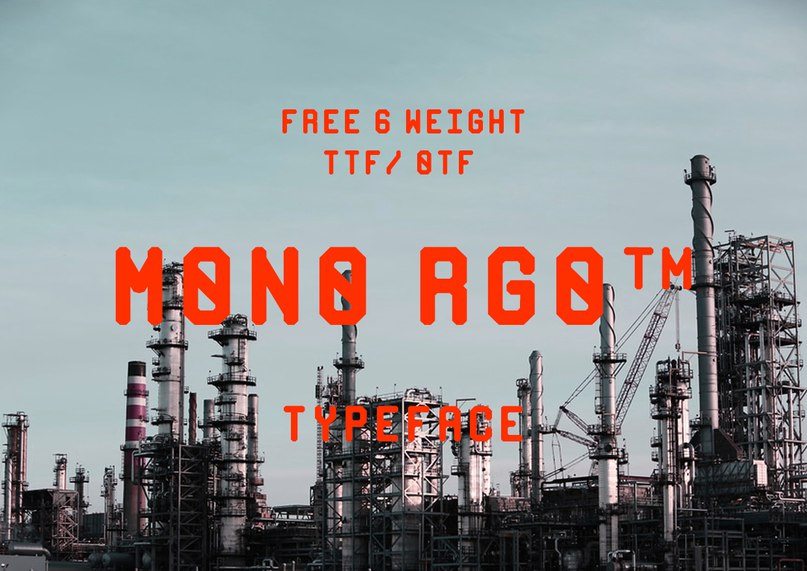Download MONO RGO font (typeface)