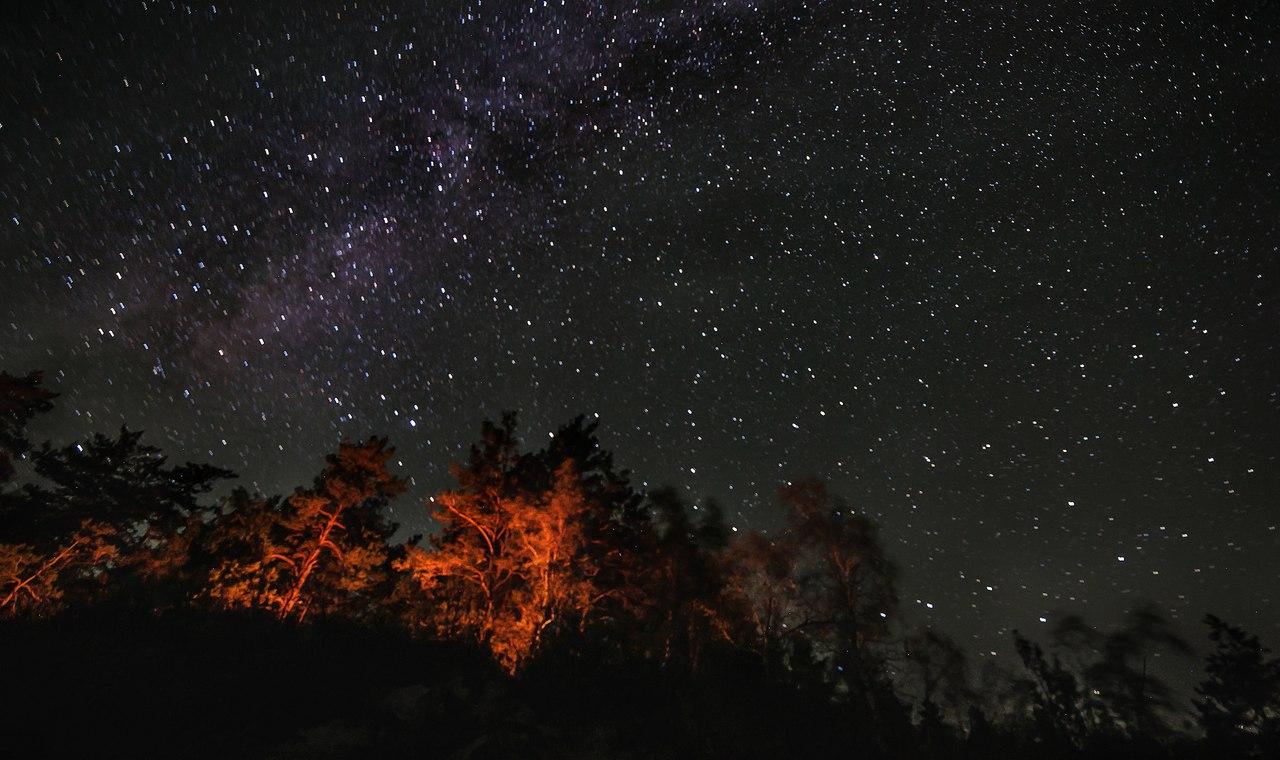 Картинки со звездным небом осень
