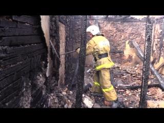 В Солнечногорском (Большая Алушта) был ликвидирован пожар в жилом доме
